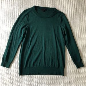 J. Crew Tippi Sweater Dark Green Large